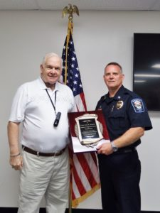 Retired Chief Stimson Recognized